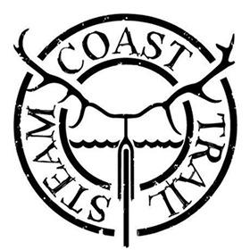 Steam coast trail logo